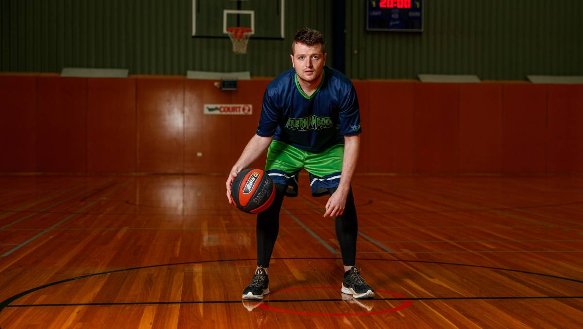 READY TO GO: Warrnambool Seahawks captain Daniel Kingsley is up for the Country Basketball League challenge.