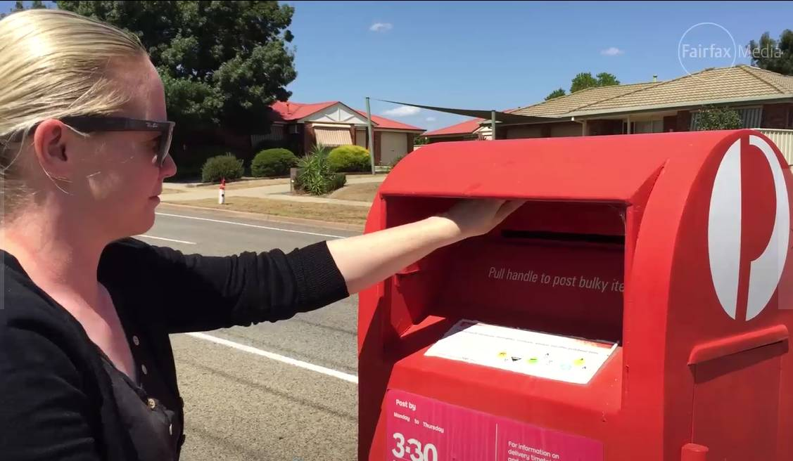 Can You Park In Front Of An Australia Post Mailbox The Standard Warrnambool Vic