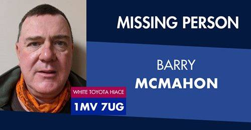 Missing man located safe and well