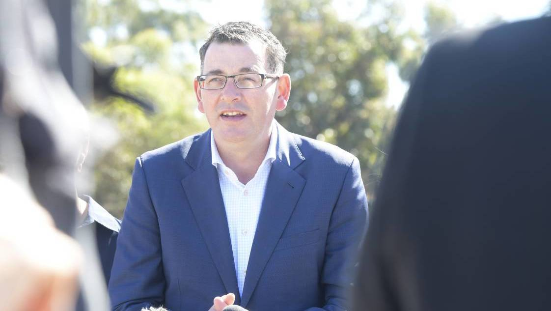 Victorian Premier Daniel Andrews. FILE PHOTO