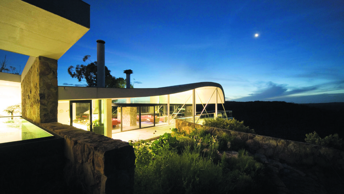 NOT A PEG IN SIGHT: The Seidler House is just one of many amazing wilderness stays to be had without having to pack the tent. Picture: Supplied