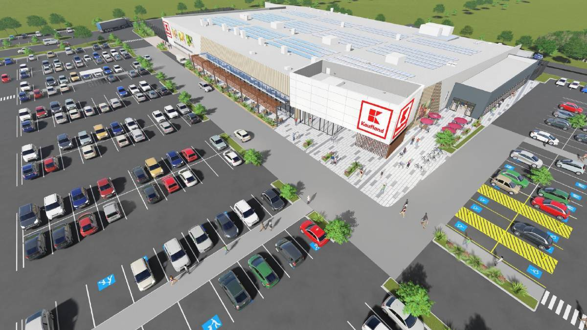 A concept image of the new Warrnambool supermarket