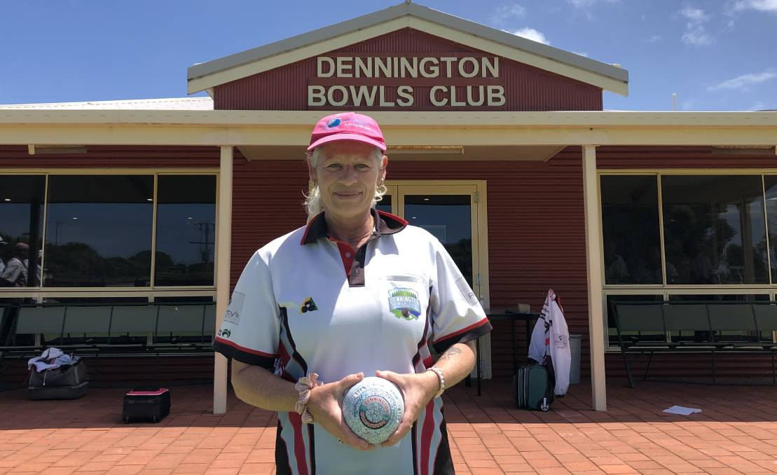 Major event: Dennington Bowls Club's Sheridan Barling is playing State Champions Week women's singles on Wednesday at City Memorial. Picture: Brian Allen