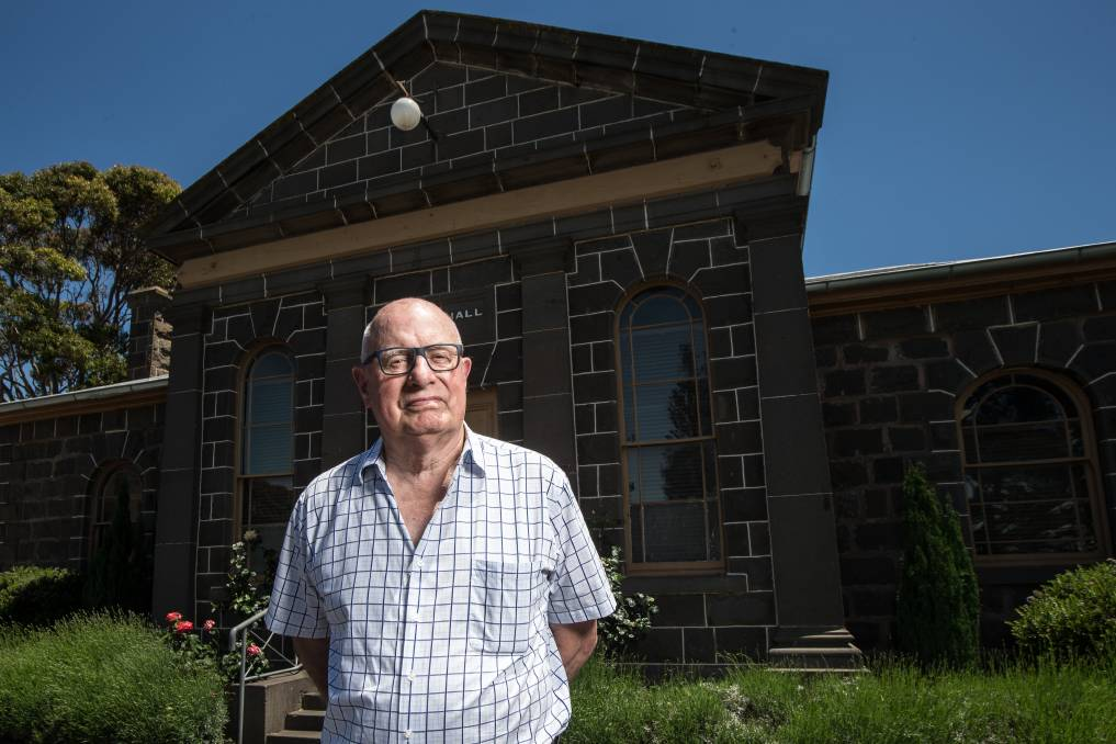 Portland resident Graeme Firth has a passion for history. He wants to see the south- west celebrate the arrival of Edward Henty in Portland Bay in 1834.  Picture: Christine Ansorge