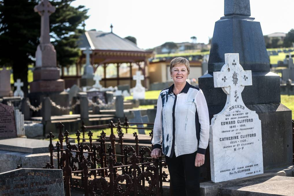 FIND: Warrnambool Cemetery Trust's Sheryl Nicholson is excited about a new database that helps locate burial records. Picture: Christine Ansorge