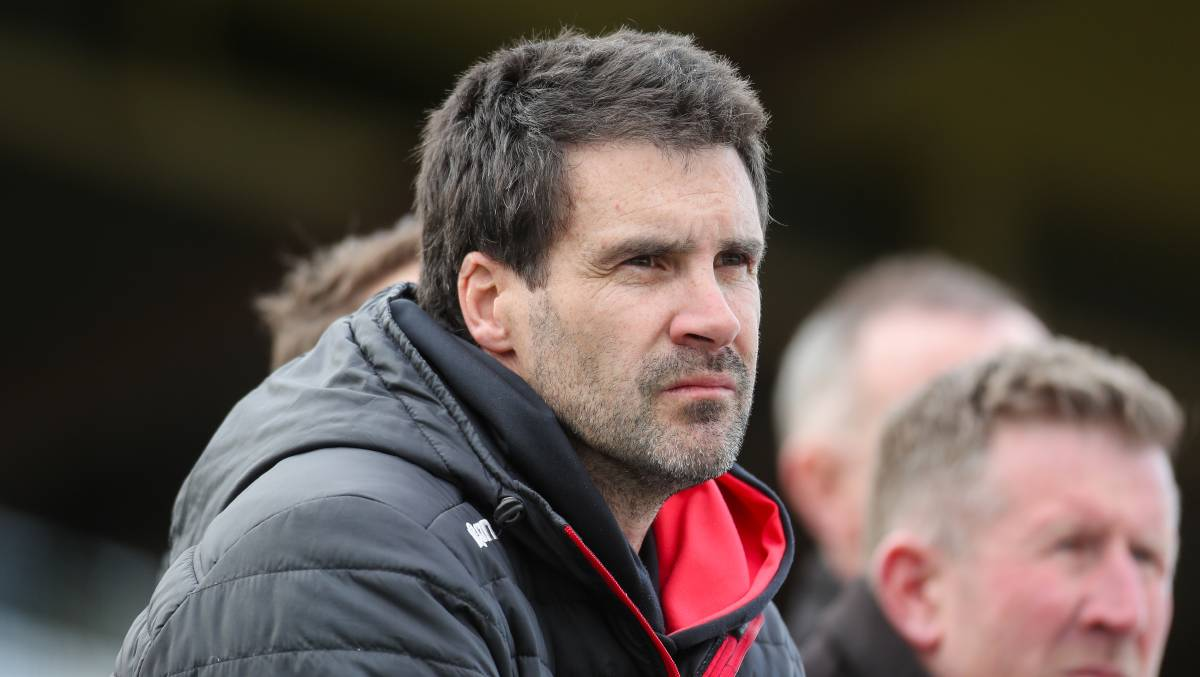 HELPING HAND: Koroit premiership coach Chris McLaren will led Emmanuel College's senior football team in a schools competition in 2020. Picture: Morgan Hancock