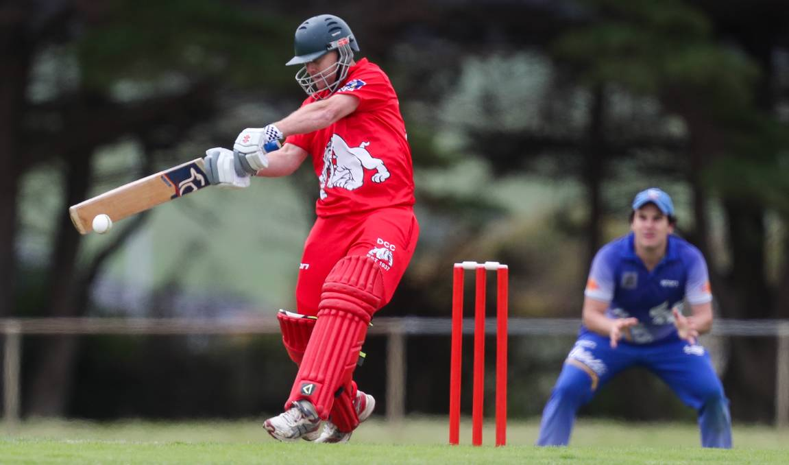 IN FORM: Dennington captain Josh Squires has led the club's division one side to two wins and one loss to date. Picture: Morgan Hancock