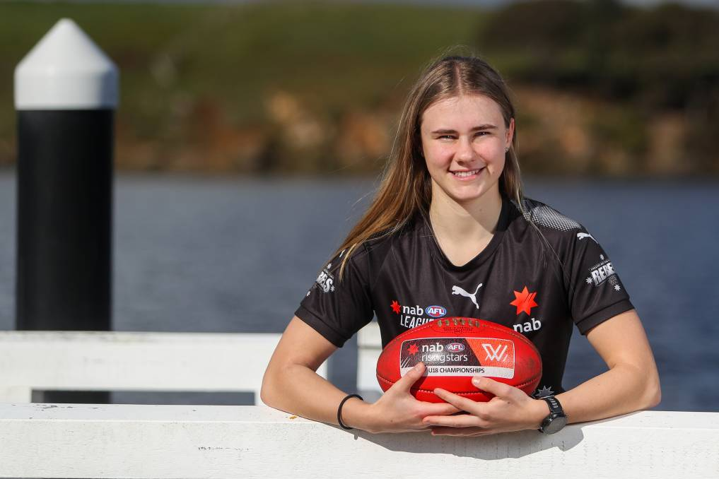 NEW HOME: Renee Saulitis is excited to start her AFLW journey after being drafted on Tuesday night. Picture: Morgan Hancock
