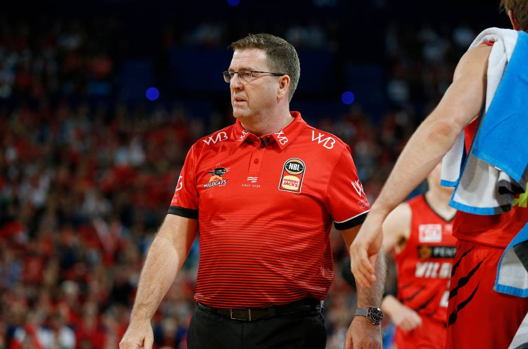 CHAMPION: Warrnambool's Trevor Gleeson will coach in the NBL again in 2020-21. Picture: Perth Wildcats