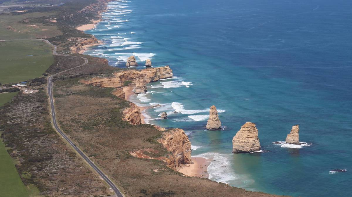 The Great Ocean Road. Picture: Kimberley Price