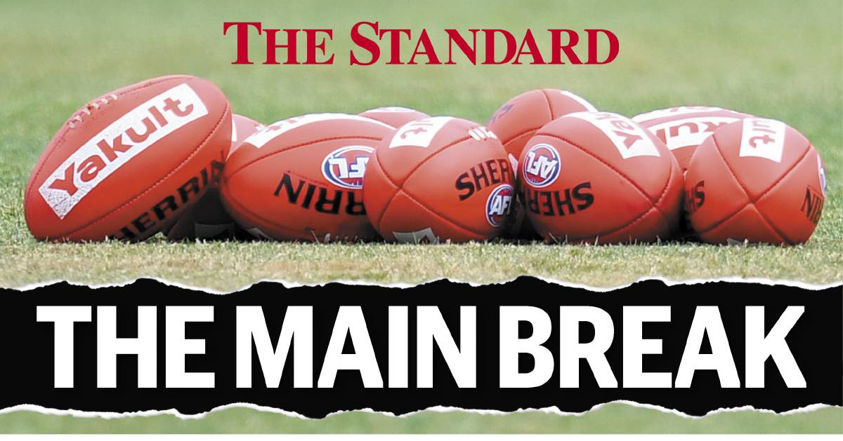 NEW FEATURE: The Standard's The Main Break is a weekly football podcast featuring coaches, players and identities from around the south-west.