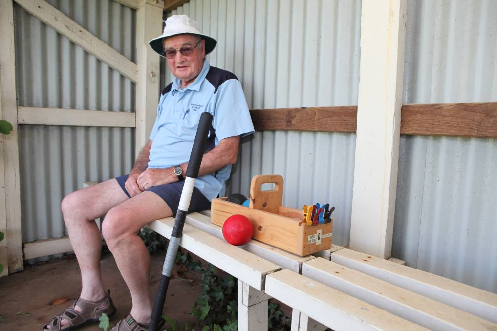 THRILLED: Ian Kelson will travel to Melbourne to play in a Victorian Croquet Association's Selectors Invitation tournament.
