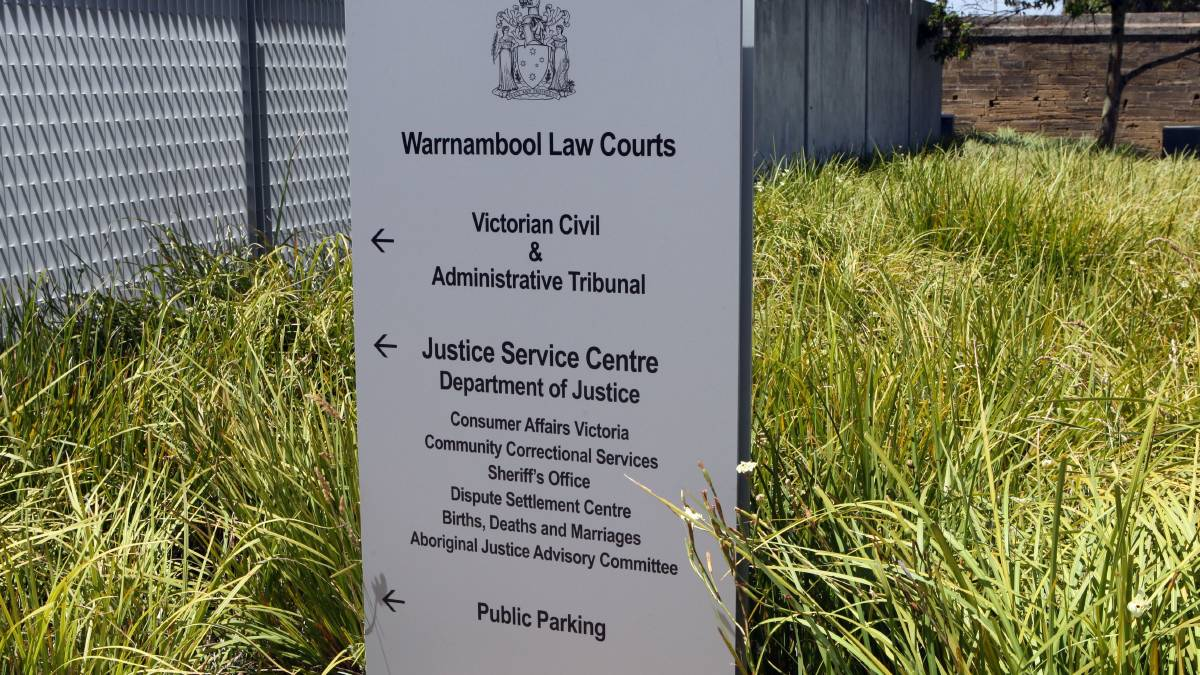 Kyle Cobby, 22, was remanded in custody in Warrnambool Magistrates Court two weeks ago but made a successful bail application yesterday.