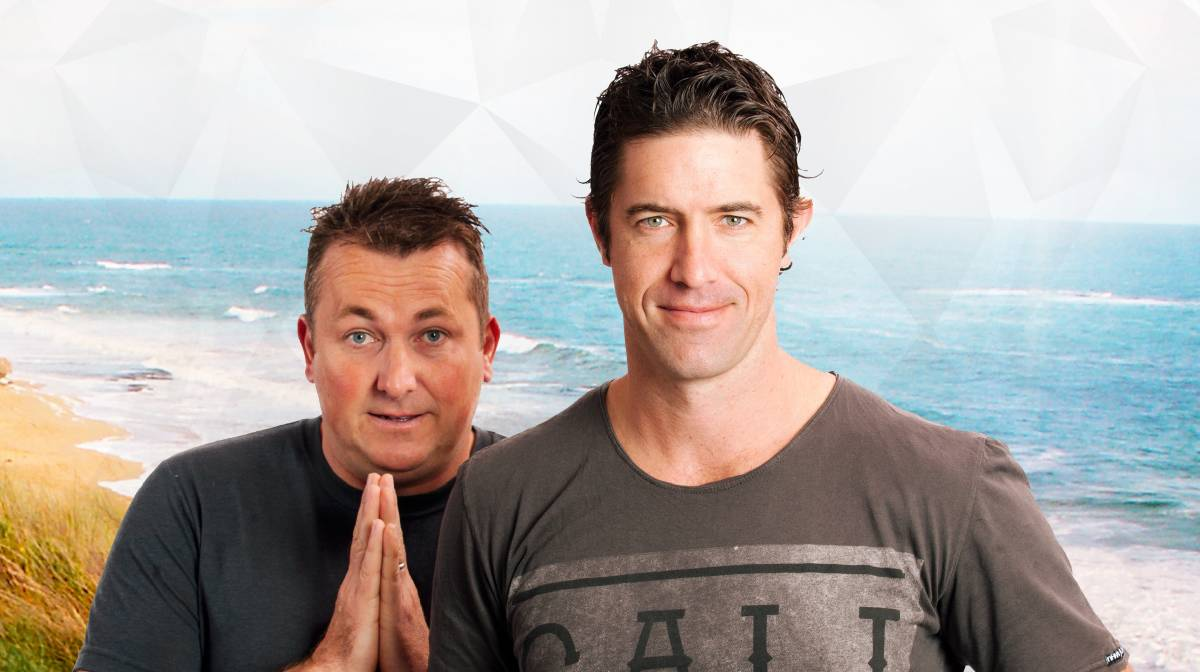Parting ways: Matty Stewart and Matthew Monk will no longer be together on the Coast FM breakfast program. (Sourced through promotional material).