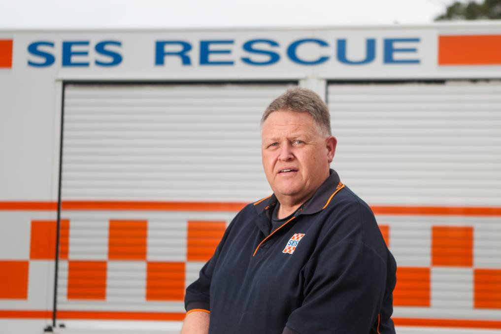 SEARCHING: Port Fairy SES Unit controller Stephen McDowell says the need for government funding for new headquarters is growing by the day.